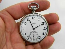 Pocket Watch Omega Exhaust to Anchor 40.6L.T2.15P Diameter 48 MM