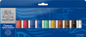 Cotman Watercolour Introduction Set (12 x 8ml)
