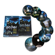 UK Seller Harry Potter Complete 1-8 Movie DVD Collection Films Box Set Kids Gift