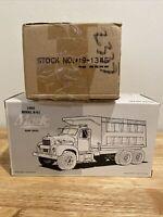 1960 Model B-61 Mack Steve Corell Dump Truck Diecast 1/34 First Gear 19-1345