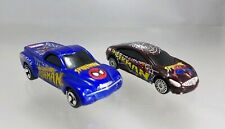 Maisto Spiderman Marvel Buick Lacrosse Maroon & Chevy SSR Blue - 2002