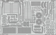 Eduard PE 48821 1/48 Sukhoi S-30MK2 Flanker exterior Academy