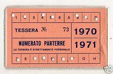 BASKET  PALLACANESTRO  TESSERA  ABBONAMENTO  SIMMENTHAL  MILANO  1970-71