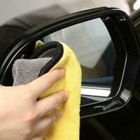 45*38cm Car Microfiber Soft Cleaning Cloth Drying Waxing Polish Towel New V0H3