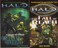 Complete Set Series - Lot of 15 Halo Novels (Video Game Tie In Books) Sci Fi