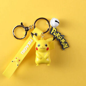Pokemon PIKACHU CHARMANDER Figure Keychain - NEW