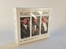 Pavarotti, Domingo, Carreras: Three Legends in One Collection (2000) SEALED