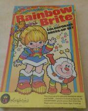 Rainbow Brite & Twink Playset Colorforms NIB Sealed 1983 Vintage Hallmark