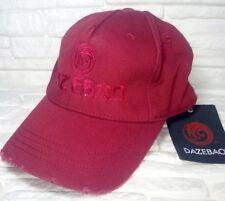 DAZEBAO MADE IN ITALY cappello baseball 100% cotone bordeaux RP € 39 b6ff52eaee44