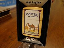 TEXAS CAMEL STATE COLLECTORS PACK BRUSH BRASS ZIPPO LIGHTER 2010