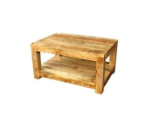Boston Indian Solid Wood Dhaka Coffee Table Natural (MADE TO ORDER)