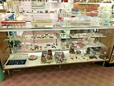 Lot Of 2 Retail Store Glass Lighted Showcase Display Cases Pickup Only