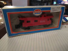 Model Power Red Caboose 9125 in box Ho Scale