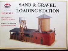 HO Gauge-Model Power-617-Sand & Gravel Loading Station Kit-Molded in 5 Colors