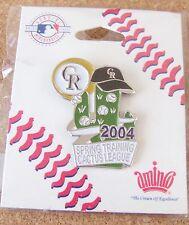 2004 Colorado Rockies Cactus League Spring Training pin MLB