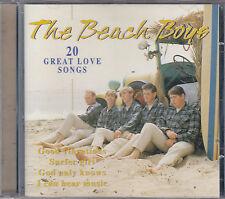 THE BEACH BOYS - 20 great love songs CD