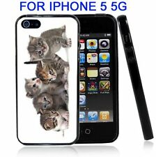 Cute Kittens For Iphone5 5G Case Cover