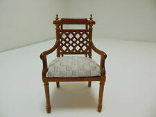 Dollhouse Miniatures  Furniture 1/12: 13017wn Carved Chair