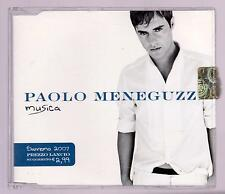 PAOLO MENEGUZZI CDs MUSICA + 1 (N. 2 TRACKS) - SANREMO