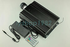 Professional fiber optic light source remote+DMX512 90w RGB led light engine