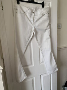 White Jeans Size 18 R By Dorothy Perkins