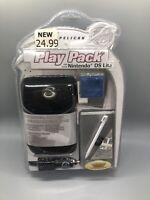 New Sealed Pelican Play Pack For Nintendo DS Lite (Black Neoprene Case) B