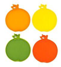 Dexas Citrus Coasters / Bar Cutting Board - Set of 4