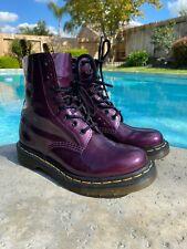 womens doc martens size 6 Purple Patent Leather