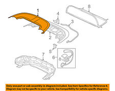 MITSUBISHI OEM 07-12 Eclipse Stowage-Convertible/soft Top-Upper Cover 5959A017HA