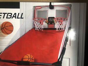 Majik Over the Door Double Shot Basketball Game with 2 Arcade Double Shot Hoops