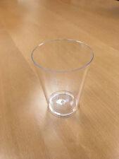 100 Stück Trinkbecher Plastikbecher Trinkgläser 200ml glasklar NEU