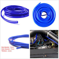 Car Truck Engine 5 Meters 16.4ft Blue 3mm Silicone Vacuum Tube Hose Tubing Pipe