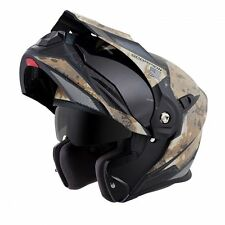 SCORPION EXO-AT950 Battleflage Sand Camo Modular Motorcycle Helmet LARGE