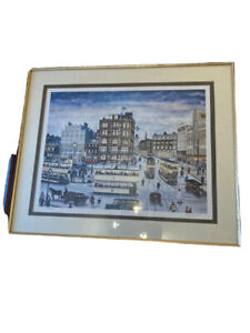 Terry Gorman Signed Limited Edition Print Of Fitzalan Square