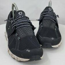 On Cloud Swiss Technology Running Shoe Sneakers Black White US Size 8.5 EU 40