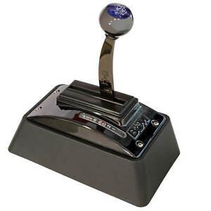 B&M Quicksilver Ratchet Floor Shifter 3 & 4 Speed Automatics Race Street Shifter