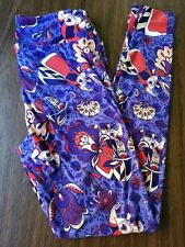 LuLaRoe Leggings OS Disney Villains Queen of Hearts Alice in Wonderland One Size