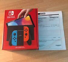 Nintendo Switch OLED-Modell HEG-001 Handheld-Konsole - 64GB -...*NEU*