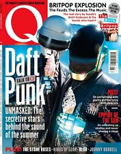 Q Magazine,Daft Punk,Muse,Blur,Biffy Clyro,The Killers,Kings Of Leon, SEALED