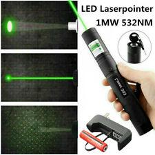 10miles Laserpointer Grün Präsentation 532NM 303 Laserlicht sichtbarer Licht Neu