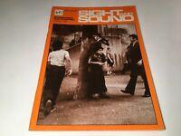 Sight And Sound Vintage Cinema Movie Magazine Spring 1976 Rossellini Tarkovsky