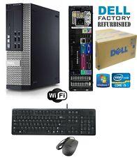Dell Optiplex 790 SFF PC i5/i7 4-8-16 Ram HD-SSD Windows 10 HP-Pro Wifi CDRW