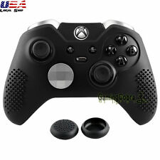 Black Dustproof Protector Silicone Case Thumb Grip for Xbox One Elite Controller