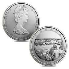 Lot of 2 - 2017 10 oz Silver Canada the Great CTG Niagara Falls $50 Coin