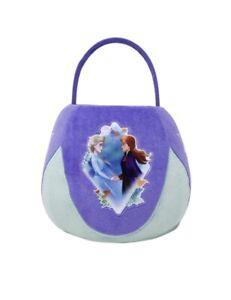 NWT New X-Large Jumbo Purple Plush Frozen II Elsa Anna Easter Halloween Basket