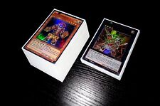Yugioh Complete Bujin Deck + Ultra Pro Sleeves! Tournament Ready! Links! Holos!!