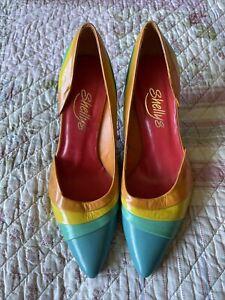 shellys london Ladies Rainbow Shoes Size 6