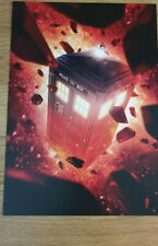 Doctor who A3 poster tardis in space