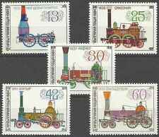 Timbres Trains Bulgarie 2852/5 ** lot 6356