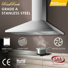 900mm 90cm Rangehood Stainless Steel Range Hood Commercial Home Kitchen Canopy